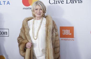 Martha Stewart at Clive Davis Pre-GRAMMY Gala