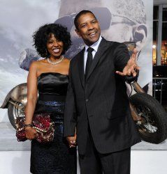"Denzel Washington attends ""The Book of Eli"" premiere in Los Angeles"