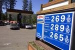 Gas prices approach $3.00 per gallon in California