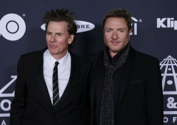Duran Duran at 34th annual Rock and Roll HOF Induction