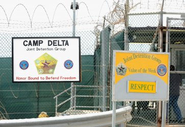 Camp Delta in Guantanamo Bay