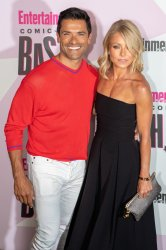 Kelly Ripa and Mark Consuelos attends Entertainment Weekly's Comic-Con celebration party in San Diego, California