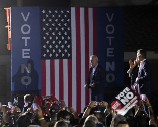 On Eve of Recall Election, Biden Says 'Eyes of the Nation' Are on California