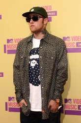 Mac Miller attends the 2012 MTV Video Music Awards in Los Angeles