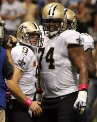 New Orleans Saints  vs  San Diego Chargers  at  the Mercedes-Benz Superdome in New Orleans