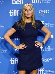 Jennifer Aniston attends 'Life of Crime' press conference at the Toronto International Film Festival