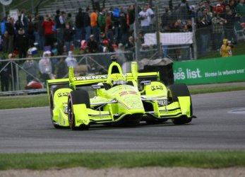 Simon Pagenaud wins his second Grand Prix of Indianapolis.