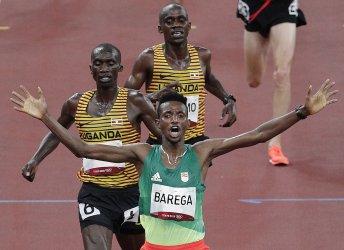 Ethiopia's Barega Wins Gold in 10,000m at the Tokyo Olympics