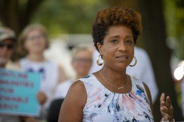 Chesapeake Climate Action Netwrok Fund Holds Washington DC rally