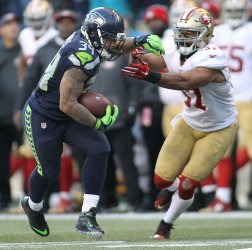 Seattle Seahawks Thomas Rawls scores two touchowns in win over 49ers