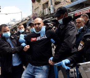 Israelis Protest The Extended Closure Of Mahane Yehuda Market, Jerusalem
