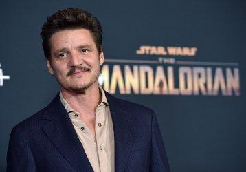 Pedro Pascal attends 'The Mandalorian' premiere in LA