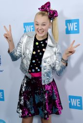 JoJo Siwa arrives for We Day California in Inglewood, California