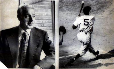 Joe DiMaggio dies at the age of 84.