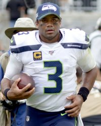 Seahawks Quarterback Russell Wilson in Pittsburgh