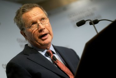 John Kasich speaks at the Council on Foreign Relations