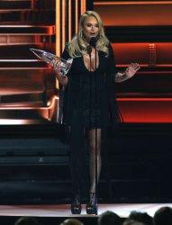 Miranda Lambert wins Female Vocalist of the Year at the 2017 CMA Awards in Nashville