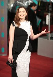 Hayley Atwell arrives at the Baftas Awards Ceremony