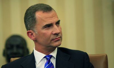 President Obama Meets With King Felipe VI of Spain at White House