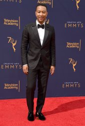 John Legend attends the Creative Arts Emmy Awards in Los Angeles