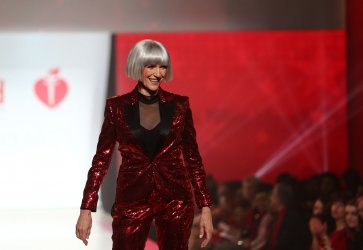 Maye Musk at American Heart Association's Go Red For Women Show