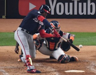 Nats Soto hits 2 RBI double in World Series in Houston
