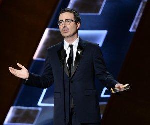 John Oliver at the 67th Primetime Emmys in Los Angeles