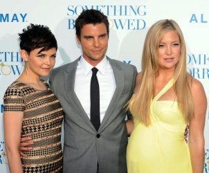 """Ginnifer Goodwin, Colin Egglesfield and Kate Hudson attend the """"Something Borrowed"""" premiere in Los Angeles"""