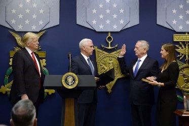 VP Pence swears in General Mattis as US Defense Secretary