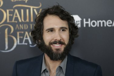 Josh Groban at Beauty And The Beast screening in New York
