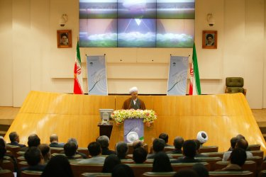 Chairman of the Experts Assembly Hashemi Rafsanjani speaks in Iran