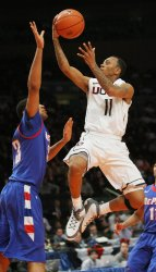 DePaul vs UConn at the NCAA Big East Men's Basketball Championships in New York