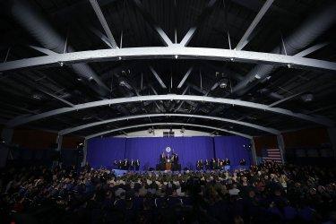President Trump Visits Department of Homeland Security