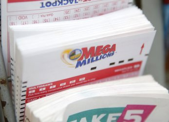 Mega Millions jackpot prize at $493 million