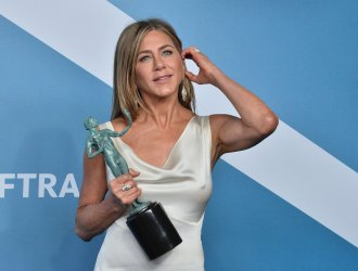 Jennifer Aniston wins award at the 26th annual SAG Awards in Los Angeles