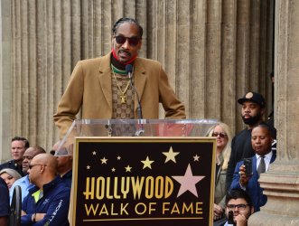 Snoop Dogg is honored with a star on the Hollywood Walk of Fame in Los Angeles