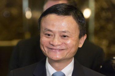 Jack Ma at Trump Tower
