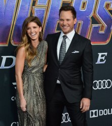 "Chris Pratt and Katherine Schwarzenegger attend ""Avengers: Endgame"" premiere in Los Angeles"