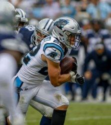 Carolina Panthers Carolina Panthers running back Christian McCaffrey