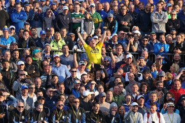 Fans at the Ryder Cup 2018