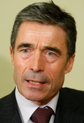 NATO Sec. Gen. Rasmussen meets with President Obama at White House
