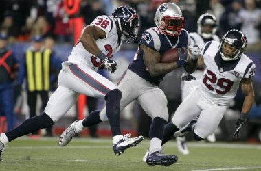 Patriots vs Texans at AFC Divisional Playoff at Gillette Stadium in Foxborough, MA