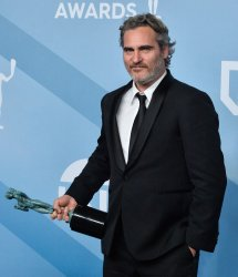 Joaquin Phoenix wins award at the 26th annual SAG Awards in Los Angeles