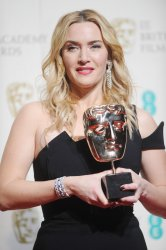 Kate Winslet attends the EE British Academy Film Awards in London