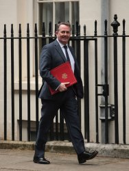 Liam Fox arrives at Cabinet meeting at No.10 Downing St