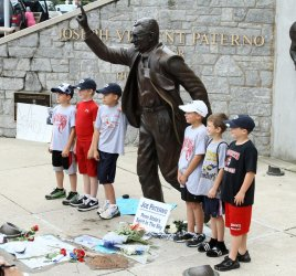 Paterno Statue Debate in State College, Pennsylvania