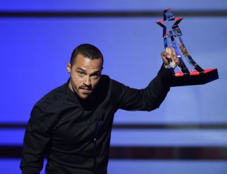 Jesse Williams honored with Humanitarian Award at the BET Awards in Los Angeles