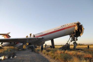 Plane crash at Iran airport kills at least 17