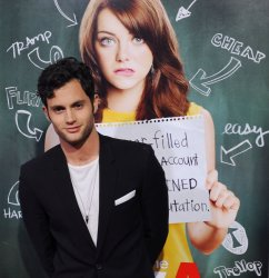"""Penn Badgley arrives at the """"Easy A"""" premiere in Los Angeles"""