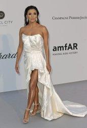 Eva Longoria attends the amfAR Gala in Antibes